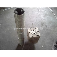 PVC profile pipe making machine