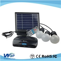 2016 Newest Solar Power System 3w LED Solar Light Home Solar Lighting System for Home Use