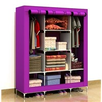 Huge size non-woven fabric wardrobe with cover T-160B