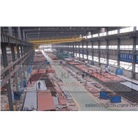 Heavy Duty Motor Driven Double Beam Bridge Crane,Overhead Crane