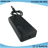 5v/9v/12v Power Supply Adjustable Mini Online DC UPS for Router WiFi Modem