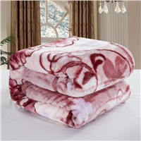 super soft acrylic blanket