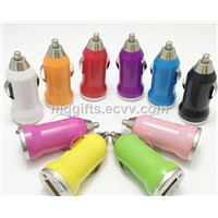 Colorful Mini USB car chargers