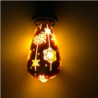 ST64 Decoration LED Filament Bulb Christmas Light Holiday Decoration Bulb