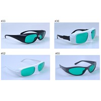 Laser protection glasses for 635&808nm