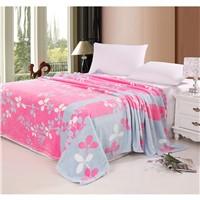 100% Polyester Home Super Soft Mink Bed Sheet