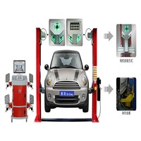 5D wheel alignment for two-poat lift 5D-618A+