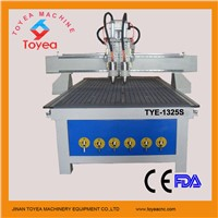 CE approved competitive price Two operation 3D relief cnc wood router machine TYE-1325S