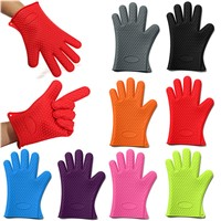 Eco-friendly Heat Resistant Silicone Glove