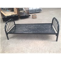 single person steel bed
