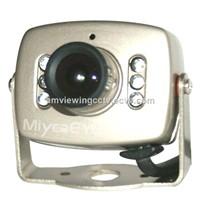 CCTV Color cmos ir mini camera,6pcs IR LEDs infrared mini camera bird box