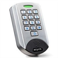 Metal Shell Waterproof Keypad and RFID Access Control Integrator
