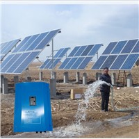 Pump inverter for solar water pump system