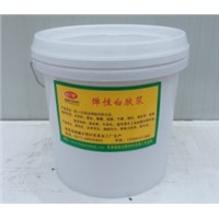 water based silk screen printing white rubber paste/ink for nonwoven bag