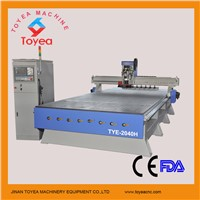Automatic Tool changer  Wood cnc router for making door/cabinet TYE-2040H
