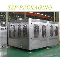 Automatic fruit juice filling and packaging machine/ hot filling type equipment for 38mm PET bottle