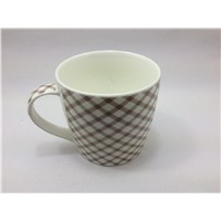 Eco-friendly new bone china ceramic coffee mug with handle
