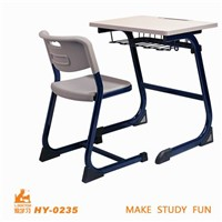 MDF with melamine school furniture