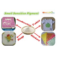 Smell sensitive powder ink with different types of fragrance