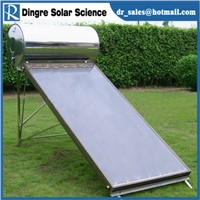 Solar Water Heater with Flat Plate and Pressurized Tank, 1.5mm Galvanized Steel/Zinc Sprayed Frame