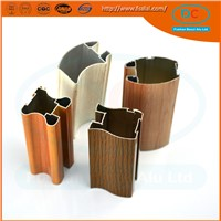 Aluminum extrusion for window and door