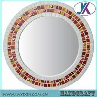 Antique hot sale decorative home glass mosaic mirror