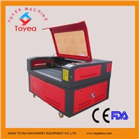 Leather/MDF CO2 laser Cutting machine with RECI laser tube TYE-1612