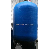 3672 water softener tank with PE liner and dark blue color