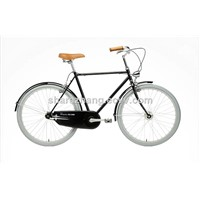 old style city bike 26 inch road bicycle cycling for men
