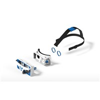 VR Glasses 3D headset virtual reality glass for entertainment