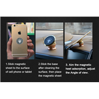360 Degree Rotating Magnetic Mobile Phone Mount