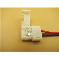 LED Strip to power Solderless connector single end single color/10mm/ for nonwaterproof strip