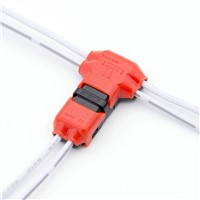 No peeling fast LED connector for 6wires