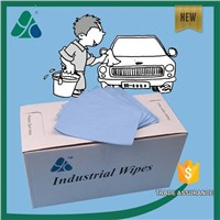 manufacture supplier nonwoven fabric car cleaning wipes