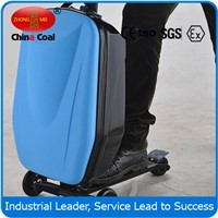 Business travel luggage suitcase scooter