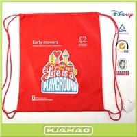 non woven fabric drawstring bag kids backpacks wholesale