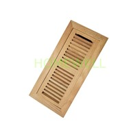 Wood floor register wood vent cover homewell industry for Wood floor register 8 x 10