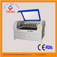 Stainless steel & MDF laser Cutting machine with 1300 x 900mm Japan servo motor TYE-1390