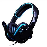 Fashionable stereo headset for PC