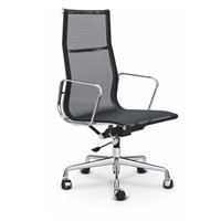 Eames Mesh Aluminium Office Chair High Back