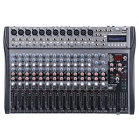 16 channel Sound Recording Mixing Board with USB for PC, Mp3 player