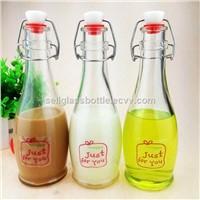 350ml Swing Top Beverage Glass Bottle