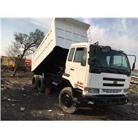Used Nissan dump truck