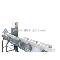 Automatic high accuracy weight sorting machine checkweigher JLCW-1000-6D