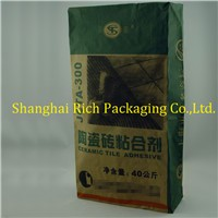 Brown Paper Bags China 40Kg For Ceramic Tile Adhesive