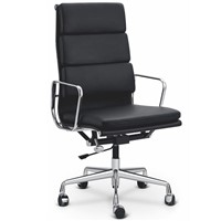 Eames Soft Pad Aluminum Group Chairs