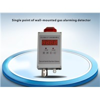 single point of wall-mounted gas alarming detector