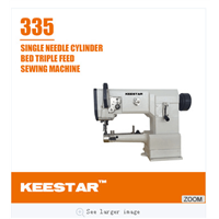 Keestar 335 cylinder bed leather bag sewing machine