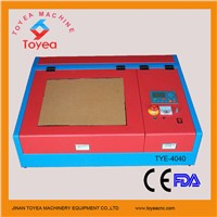China Economic  40W/50W  Small handicraft laser Engraver carving machine TYE-4040