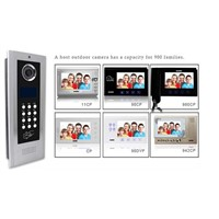 "apartment  Video Door Phone with 4.3"" Touch Screen TCP/IP"